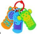 Силиконовые Teether Ребенка Высокое Качество 3 М + Сенсорные Игрушки Bpa Бесплатно Ключ Силиконовые Прорезывания Зубов Infantil 3 шт./лот Mordedor Пункт детские C029