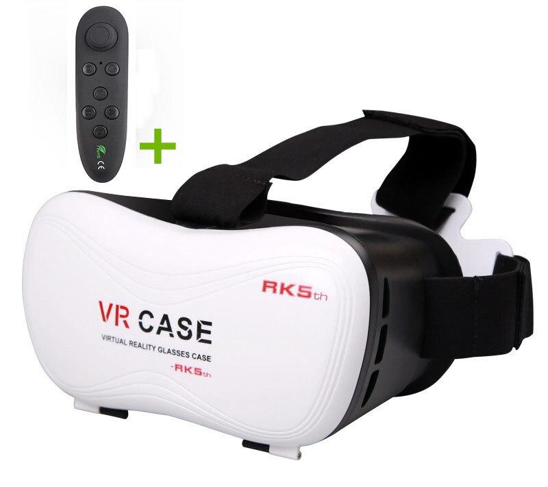 VR Cas 5 Casque VR Lunettes VR Spectateur Pour Casque de Réalité Virtuelle Visore 3D Yeux pour Iphone/Huawei/Sony Montre Vidéo Jeu