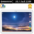 Carbaystar reciente s109 4g lte android 6.0 10.1 pulgadas tablet pc octa core 4 GB RAM 64 GB ROM 5MP IPS Tabletas Teléfono 1920X1200 MT8752