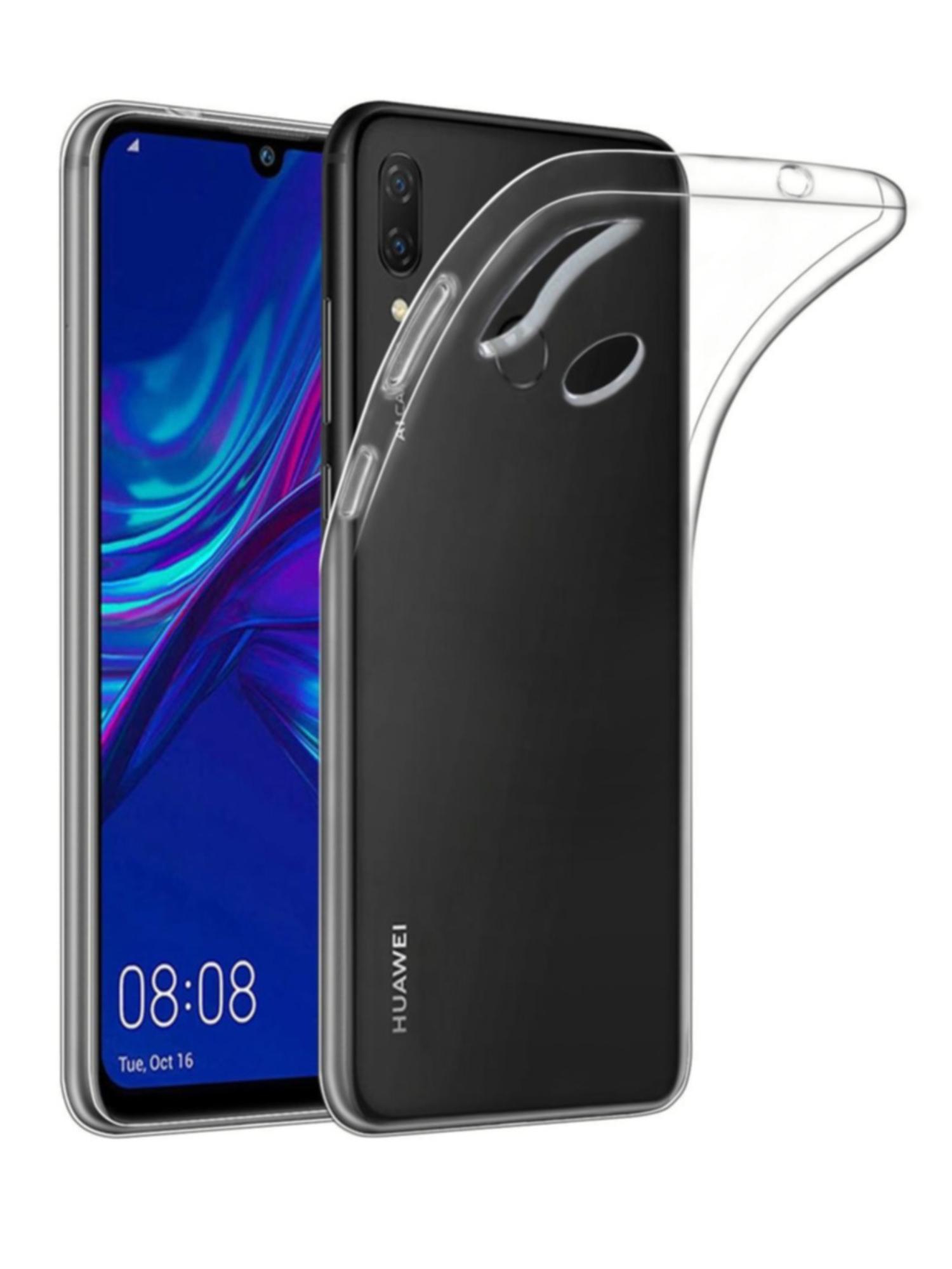 Funda de gel TPU carcasa silicona para movil Huawei P Smart 2019 Transparente