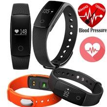 Оригинальный Смарт Браслет Приборы для измерения артериального давления сердечного ритма Мониторы M3 Спорт часы Беспроводной Sync SMS призыв к IOS Android-смартфон