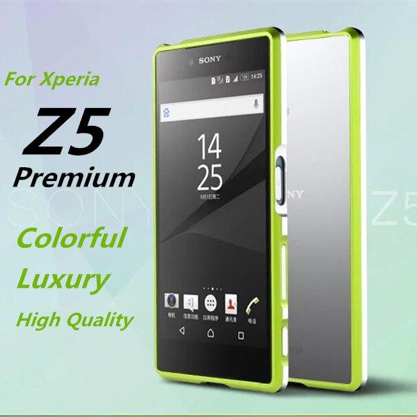 bilder für Z5 Premium stoßkasten Luxus Deluxe Ultra-dünne Stoßfeld-fall Für Sony Xperia Z5 Premium E6883 5,5-zoll