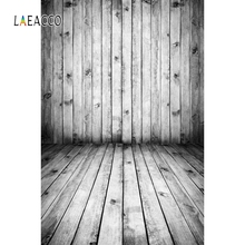 Laeacco Grunge Wooden Board Planks Stripes Photocall Photography Backgrounds Photographic Backdrops Props For Photo Studio Wall
