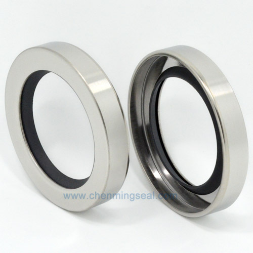 Mm rotary shaft oil seal with single ptfe sealing