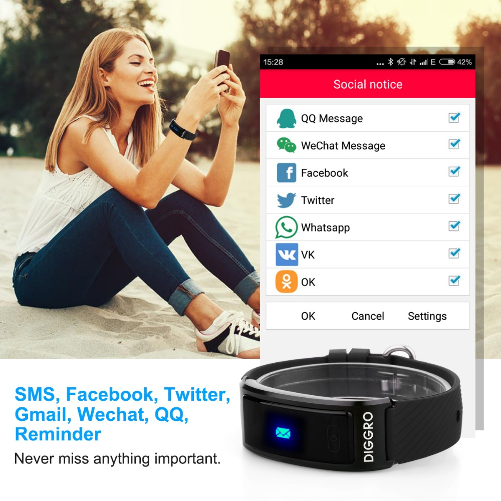 Smartband-Diggro DF23-14