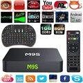 M9S S905X Amlogic Quad Core bits 1 GB/8 GB Android 6.0 TV Box 4 K 2 K H.265 1000 M LAN Wifi Smart tv box Set Top Box PK T95N X96