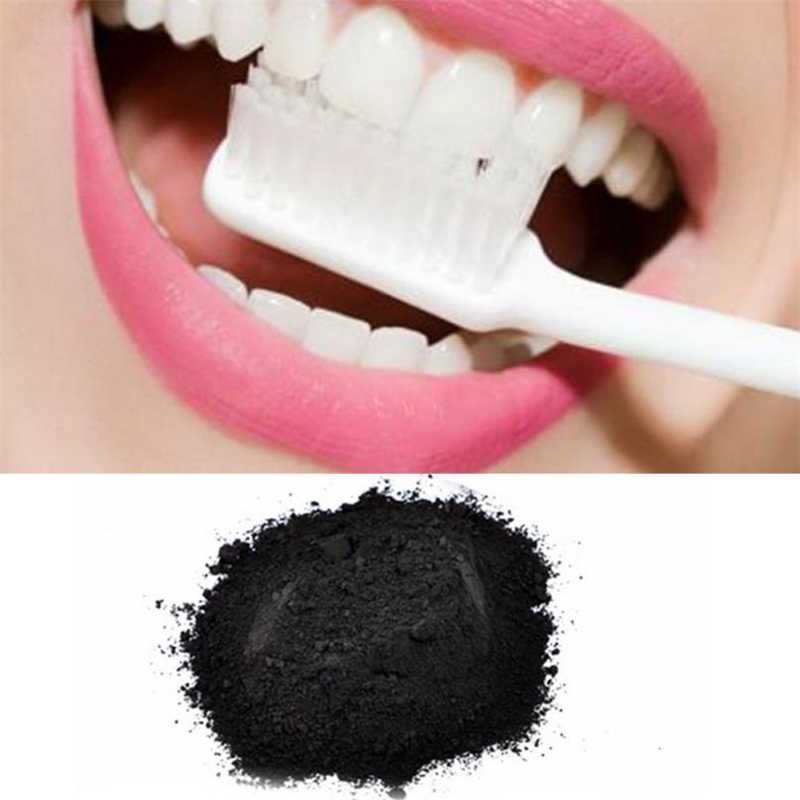 ISHOWTIENDA 25g NEW 3d white Natural Organic Activated Charcoal Bamboo Toothpaste Teeth Whitening Powder clareamento dental