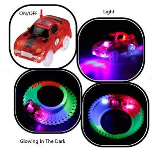 Image 3 - Büyülü parça LED ışık elektronik araba parça oyuncak parçaları 5 renkli ışıklar çocuk oyuncakları bulmaca oyuncak araba doğum günü hediyeleri