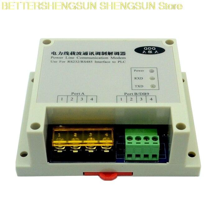 Power cat power carrier MODEM power line carrier communication to 485 interface strong PLM39Power cat power carrier MODEM power line carrier communication to 485 interface strong PLM39