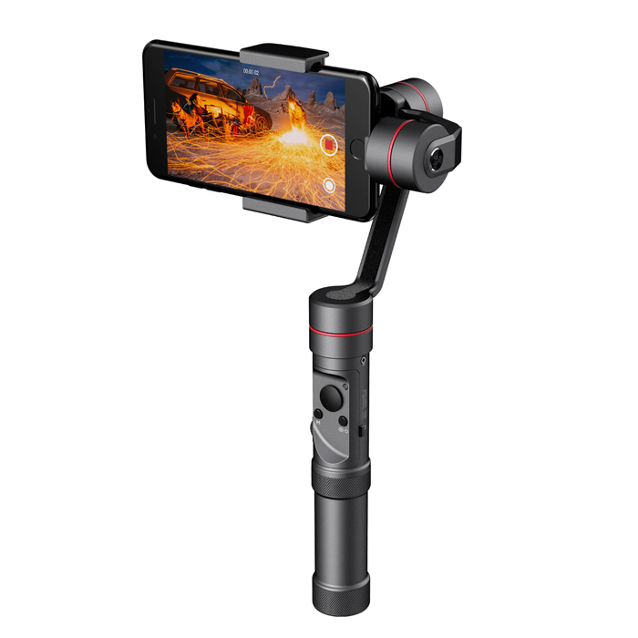 Newest Zhiyun Smooth - III Smooth 3 Handheld Gimbal Stabilizer for Smartphones for Gopro Action cameras Mount Support 260g feiyu tech g360 panoramic camera stabilizer handheld gimbal 360 for smartphones gopro action cameras app control f20474