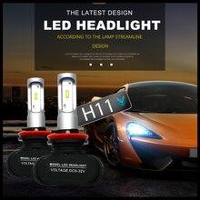 Modifygt S1 H4 Led Headlight Bulb H7 H1 H3 H8/H9/H11 Car light For Auto 9005/HB3 Automotive car styling 12V 50W 8000LM 6000K