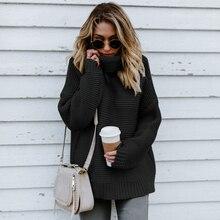 Gruby i Ciepły Sweter z Golfem MILO