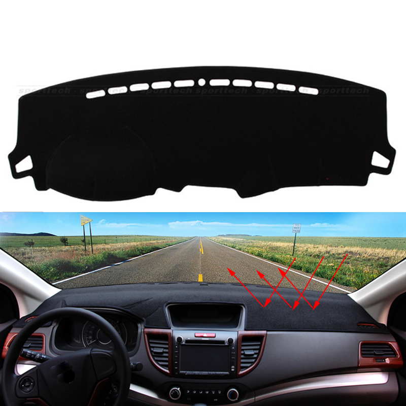 Car dashboard Avoid light pad Instrument platform desk cover Mats Carpets Auto accessories for Hyundai Elantra  2008 - 2016 special pads slip resistant rubber texture waterproof senior envionmental latex car floor mats for hyundai elantra