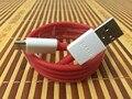 Brand new original oneplus 3 rodada vermelho 100 cm 5 v 4a traço rápido rápido carregamento de sincronização de dados usb 3.1 cabo tipo c para oneplus 2 3
