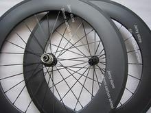 1810g!!!700C carbon bike wheel,88mm deep clincher wholesale price,CNC alloy hub,compatible shiman 11 speed