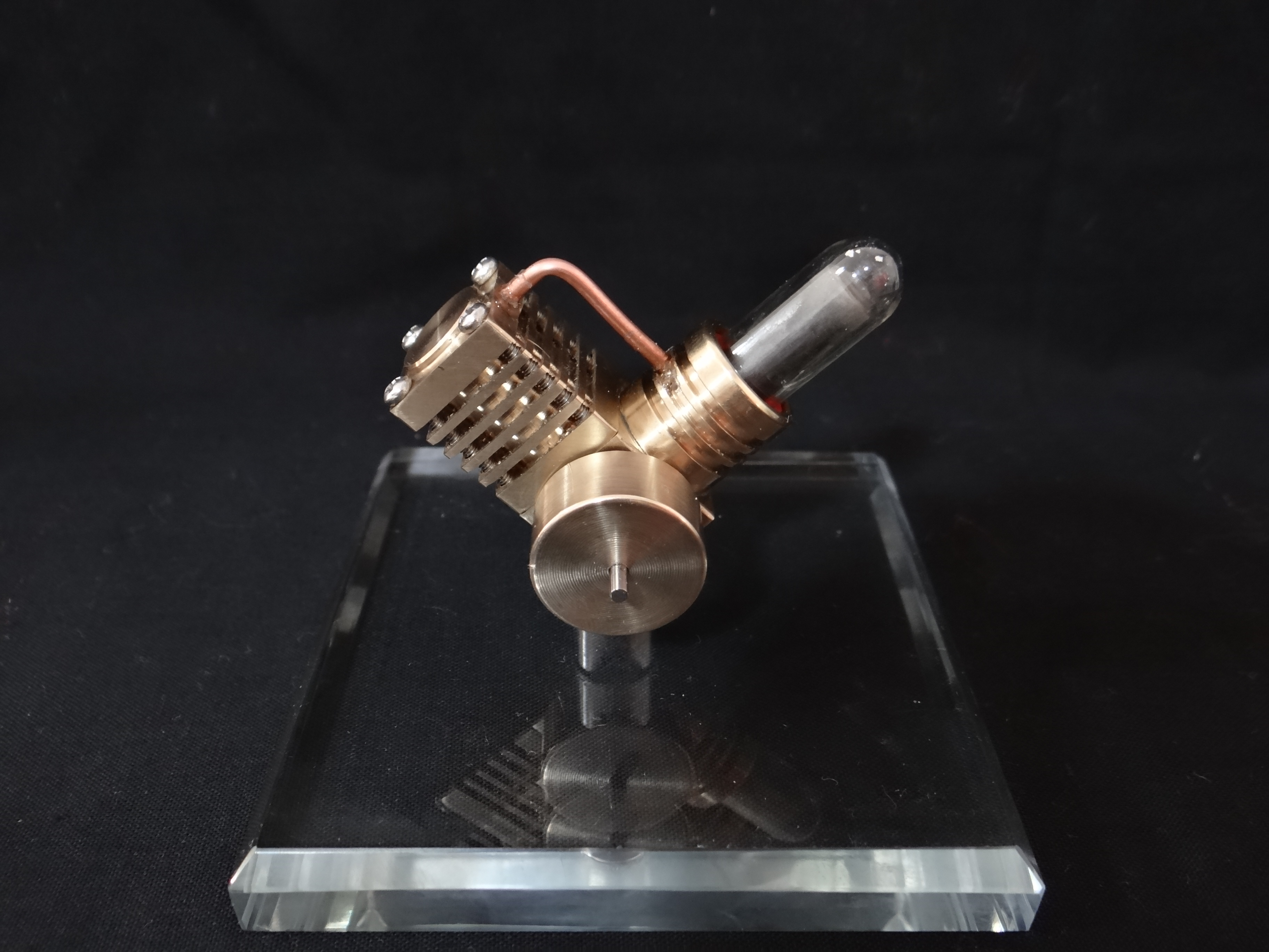 mini Stirling engine external bustion engine handmade micro
