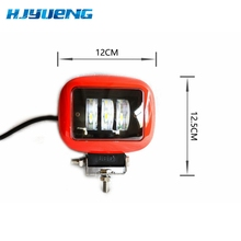 30W כיכר מבול LED עבודה אור בר מנורת עבור רכב Offroad 4x4 טרקטורונים משאית טרקטור SUV רכב 30w LED עבודת אור מבול 12 24V
