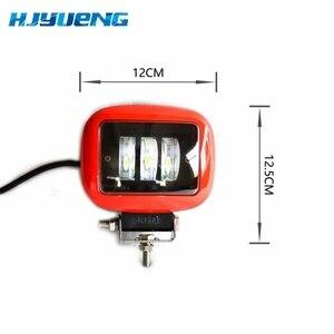 Image 1 - 30W Square Flood LED Work Light Bar Lamp For Car Offroad 4x4 ATV Truck Tractor SUV Vehicle 30w LED Work Light Flood 12 24V