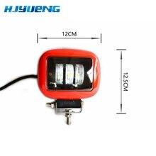 30W cuadrado de barra de luz LED de obra lámpara para coche Offroad 4x4 ATV camión Tractor SUV vehículo 30w LED luz de trabajo de 12 24V