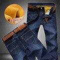 2016 inverno venda quente novas calças homens personalizado quente simples calças de lazer de negócios jovens calças dos homens grandes homens de tamanho 28-46