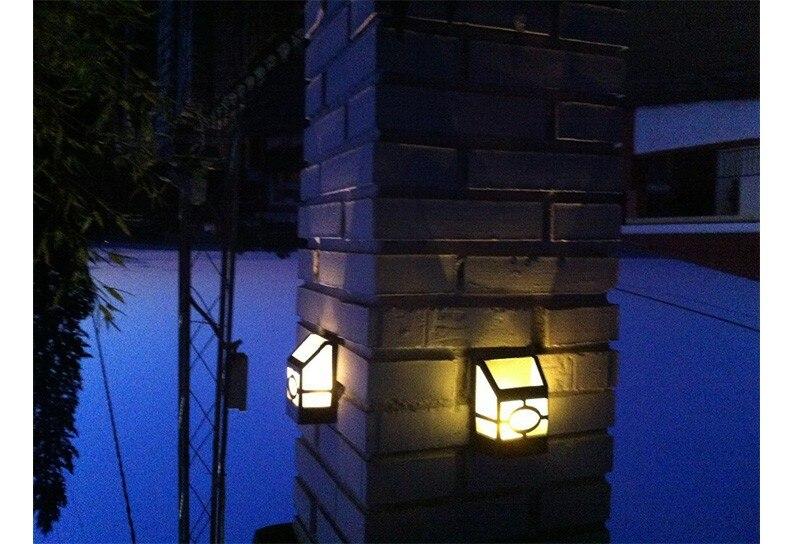 4 pacote de Energia Solar lâmpada de
