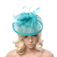 Womens Formal Party Cocktail Flower Feather Headband Fascinator
