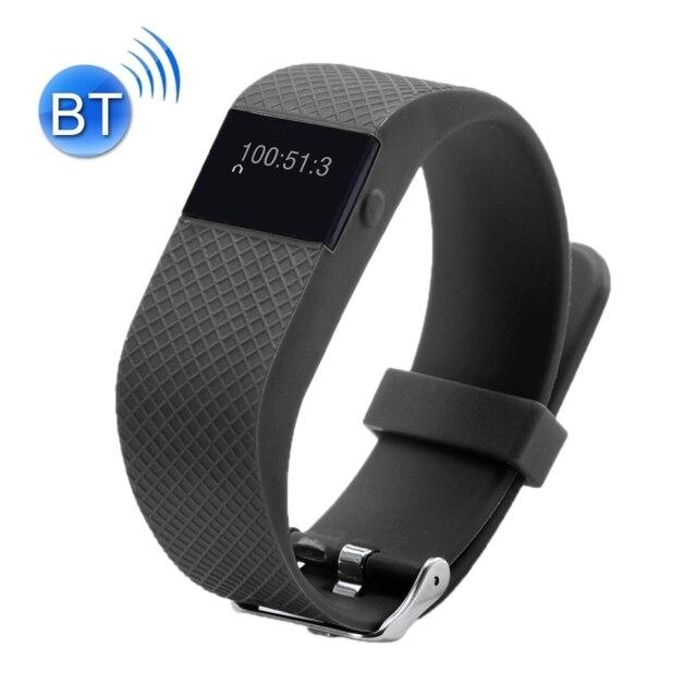 TW64S Waterproof Bluetooth 4.0 Heart Rate Smart Bracelet Pedometer Sleep Monitoring Call Reminder Clock Remote Camera Anti-lost