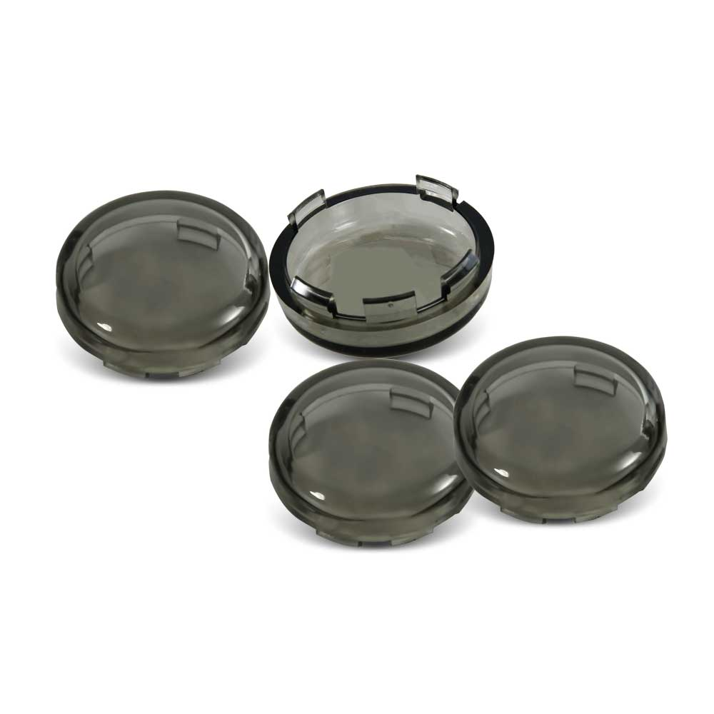 Motorcycle Accessories & Parts 4pcs Turn Signal Light Indicator Lens Cover Fit For Harley Sportster 1200 883 Dyna Heritage Softail Electra Glide Accessories High Quality