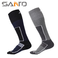 Autumn Winter New SANTO Mountain Outdoor Men S Ski Socks With Thick Thermal Socks For Climbing