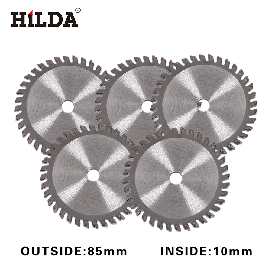 HILDA TCT Tungsten Carbide Mini Circular Saw Blade 36 T for Wood Cutting Power Tool Accessories circular saw blade mini saw 5pcs 10 60 teeth wood t c t circular saw blade nwc106f global free shipping 250mm carbide cutting wheel same with freud or haupt