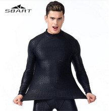 цена на SBART Swimming Suit For Man Long Sleeves Rash Guards Quick-Dry Diving Suit Snorkeling Swimming Surfing Rash Guard Long Sleeves