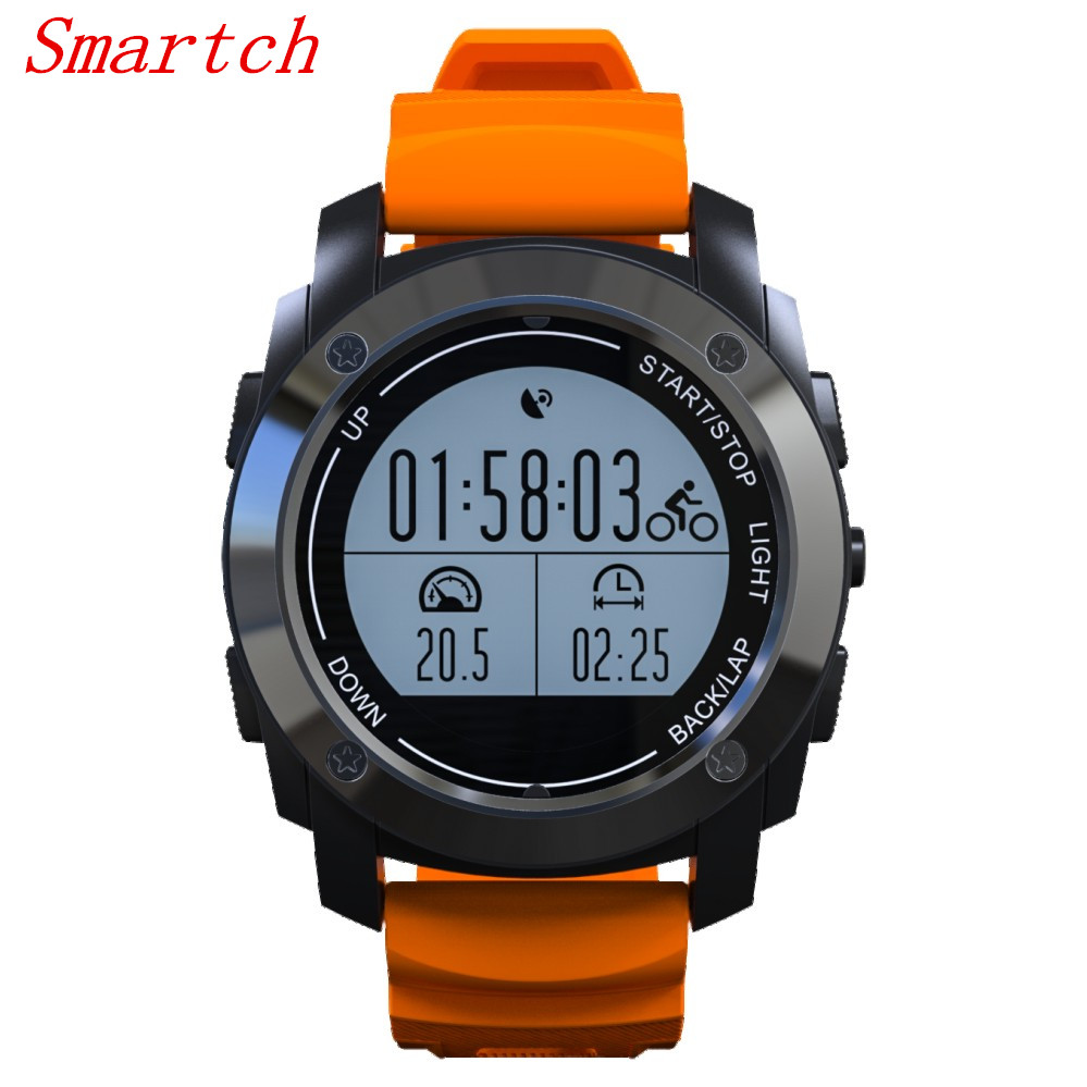Smartch S928 Real-time Heart Rate Monitor Tracker GPS Smart Watch Air Pressure Environment Temperature Height Sports Watch SmartSmartch S928 Real-time Heart Rate Monitor Tracker GPS Smart Watch Air Pressure Environment Temperature Height Sports Watch Smart