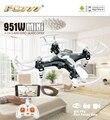 FQ777 951 W WIFI de Bolsillo Mini Drone FPV 4CH 6-axis gyro Quadcopter con 30 W Cámara Smartphone Holder Transmisor F17860/61