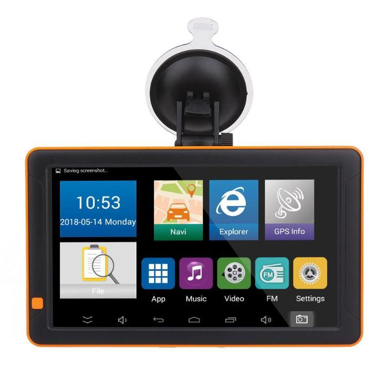 Здесь продается  Car Vehicle GPS AC 100~240V DC 5V/ 2A 9in Bluetooth WiFi Android Car GPS Navigator FM G-sensor Night Vision AV IN 512M+16G  Автомобили и Мотоциклы