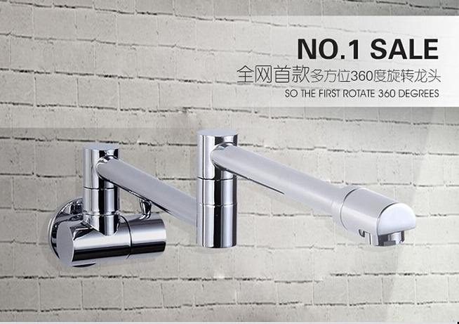7 Faucet Finishes For Fabulous Bathrooms: Fashion High Quality Brass Chrome Finish Single Cold