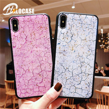 Glitter Gold Foil Phone Case for iPhone X XS MAX XR Green Pink 6S 6 7 8 Plus foil Purple Luxury Cover