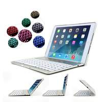 Bluetooth Keyboard   Case   for iPad 9.7 New 2017 2018 Flip Cover Laptop Design   Tablet     Case   for iPad Air 7 Colors Backlit Keyboard