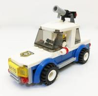 5353 бриг раннее образование цифровой блоки chase патруль вагон игрушки блок кирпич ABS игрушка racing локомотив автомобиль Exploiture блоки