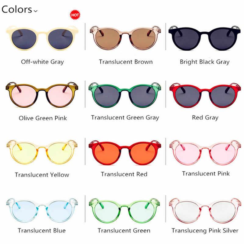 cd87ad28e4 ... CURTAIN Gafas de sol Mujer Lunette de Soleil 2019 New White Retro  Sunglasses Trend Wild Korean