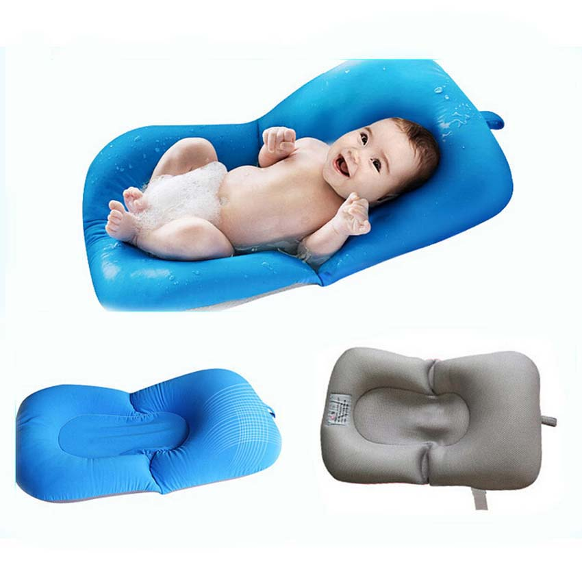baby shower portable air cushion bed babies infant baby bath pad nonslip bathtub mat