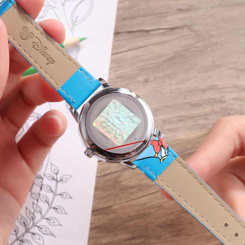 Детские модные часы с изображением героев мультфильма «Дисней», детские часы с изображением Дональда Дака и Базза Лайтера для мальчиков