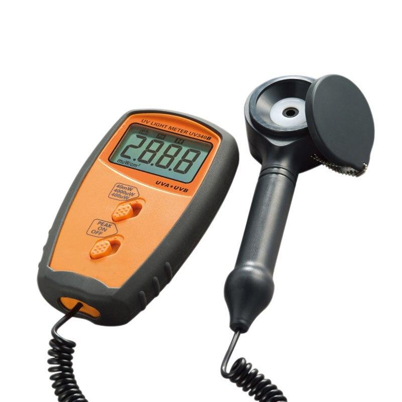 REFIT UV340B Ultraviolet illuminance Meter UV Light Meter UV illuminance Meter UV Photometer
