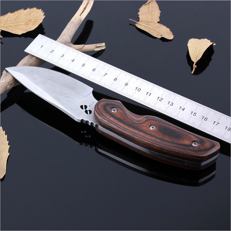 Binoax Multifunction Straight EDC Survival Hunting Knife Outdoor Camping Tools with Bag outdoor multifunction camping tools axe aluminum folding tomahawk axe fire fighting rescue survival hatchet