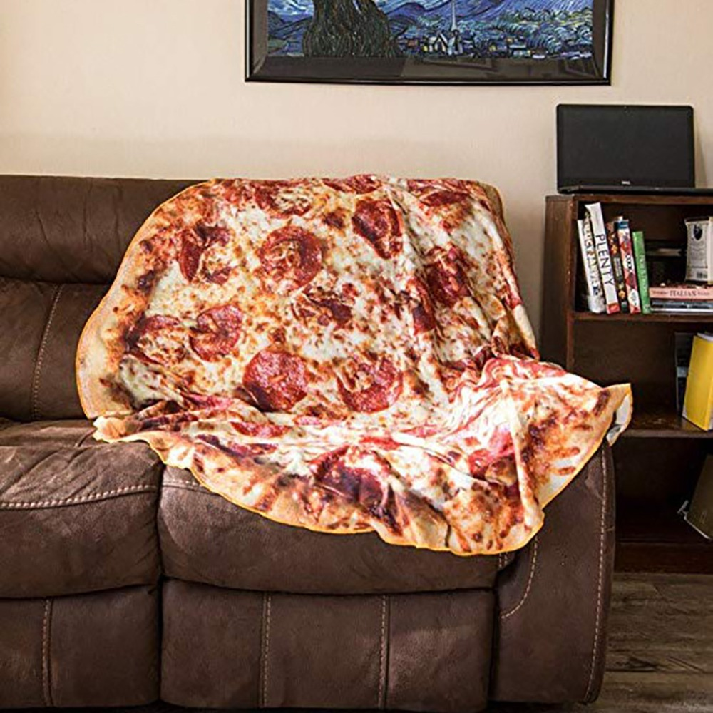 Home Automation Modules Ishowtienda Comfort Carpet Creations Realistic Food Novelty Blanket Perfectly Round Tortilla Throw On Bed Sofa Couch
