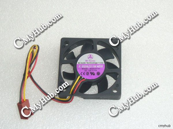 FOR BS501012H 5010 12V 0.16A 5CM 3-Wire With Detection Cooling Fan