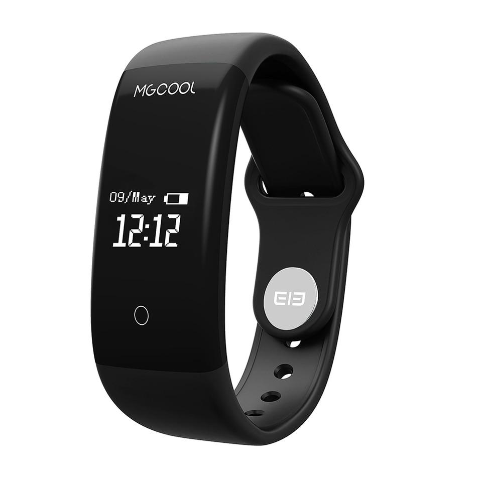 imágenes para Elephone ELE MGCOOL Banda 2 Pista de Ritmo Cardíaco Bluetooth Pulsera Inteligente monitor de Sueño Impermeable Smartwatch para Android IOS