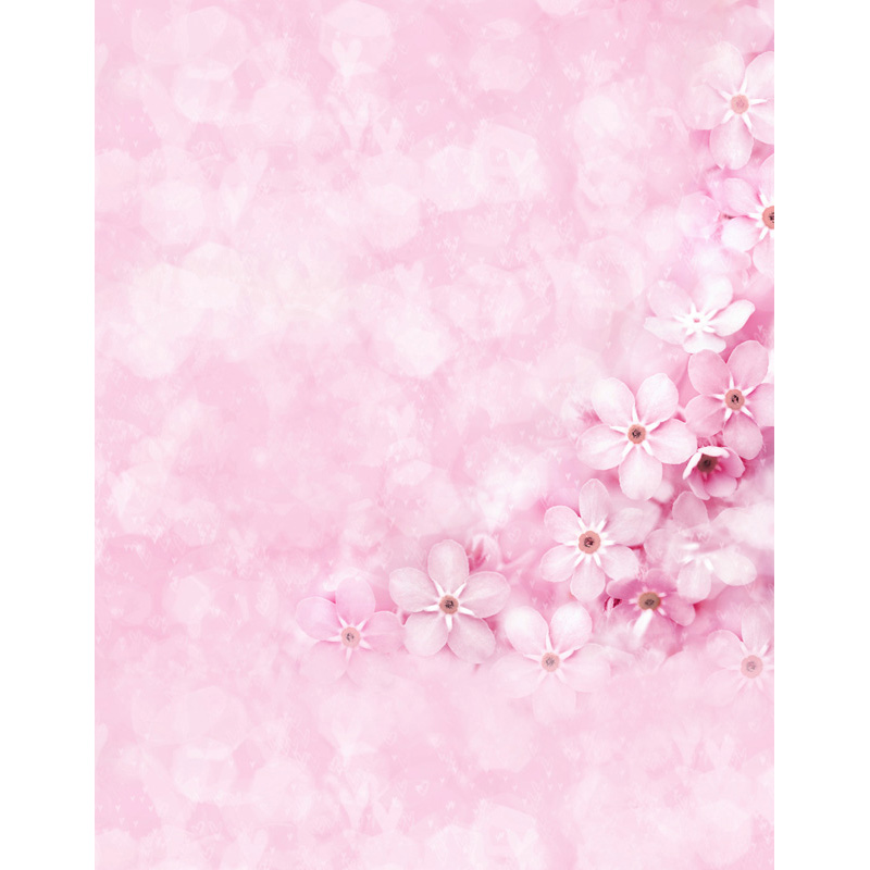 Custom vinyl cloth newborn pink floral photographic backgrounds for wedding dolls portrait photo photography backdrops S-2562 8x10ft valentine s day photography pink love heart shape adult portrait backdrop d 7324