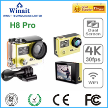 High-Quality WIFI Action Camera 2.0″LCD Mini Cam 4k 30fps/ 1080P 60fps Diving 30M Waterproof Sport DV 170D Lens Super Sport Cam