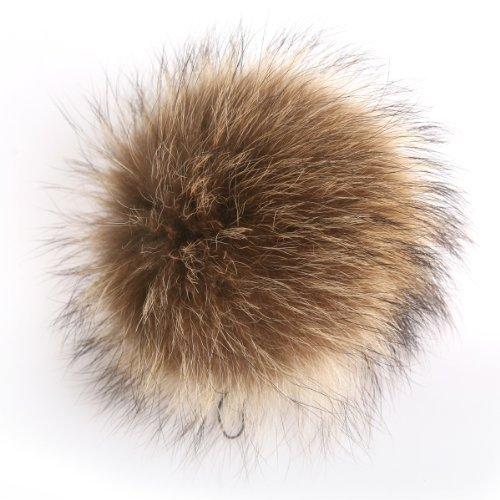 Мода Ursfur настоящее фокс помпон пушистики брелок лисицы мяч использовать для мобильного ремешок брелок сумка висит бирка брелок бесплатная доставка