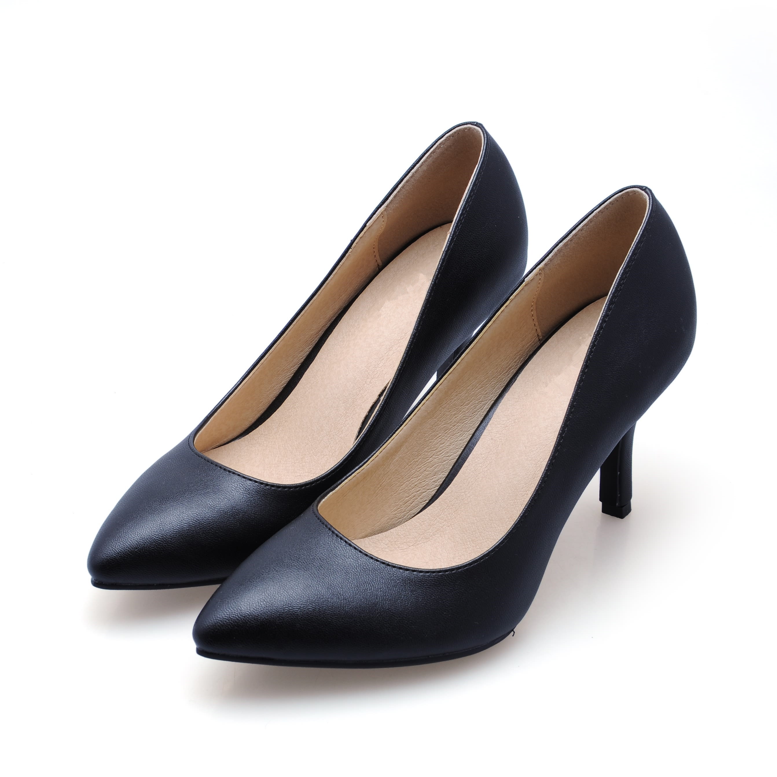 New 2017 Women Genuine Leather High Heels Shoes Sexy Red Bride Party Thin Heel Pumps Pointed Toe Office Shoes Big Size SMYBK-004  allbitefo fashion sexy thin heels pointed toe women pumps full genuine leather platform office ladies shoes high heel shoes